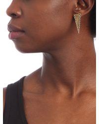 BaubleBar - Metallic Pierced Triangle Earrings - Lyst
