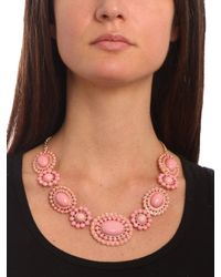 BaubleBar - Metallic Ivory Sunbloom Necklace - Lyst