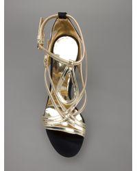 Luis Onofre - Black Stiletto Sandal - Lyst