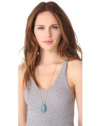 Alexis Bittar - Blue Cordova Chrysocolla Long Necklace - Lyst