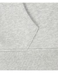 AllSaints | Gray Fox Zip Up Hoodie for Men | Lyst