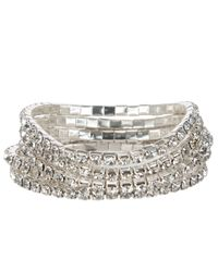 John Lewis | Metallic Multi Layer Diamantã© Sparkle Bracelet | Lyst