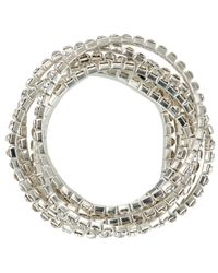 John Lewis - Metallic Multi Layer Diamantã© Sparkle Bracelet - Lyst