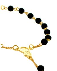 ASOS Collection - Metallic Rosary Anklet - Lyst