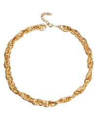 ASOS Collection - Metallic Limited Edition Long Link Chain Necklace - Lyst