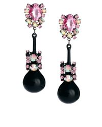 ASOS Collection | Pink Asos Jewel Bauble Earrings | Lyst