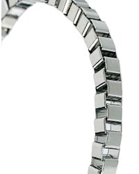 ASOS Collection - Metallic Asos Pack Of Four Chain Bracelets for Men - Lyst
