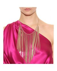 Nina Ricci | Metallic Chain Waterfall Necklace | Lyst