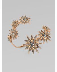 Ca&Lou | Metallic Etoile Sparkle Coil Bracelet | Lyst