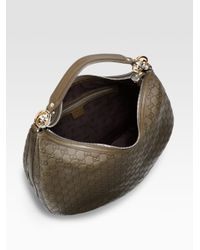 Gucci | Green Gg Twins Large Hobo | Lyst