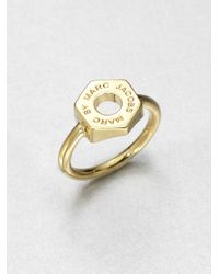 Marc By Marc Jacobs | Metallic Bolt Ring | Lyst