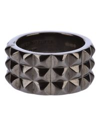 Stephen Webster | Metallic Rhodium Silver Stud Ring for Men | Lyst