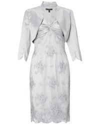 Adrianna Papell | White Lace Dress | Lyst