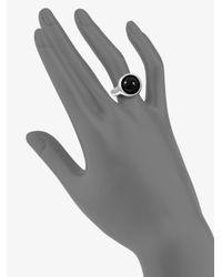 Georg Jensen - Black Agate Ring - Lyst