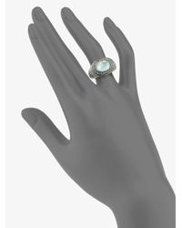 John Hardy - Metallic Blue Topaz and Sterling Silver Ring - Lyst