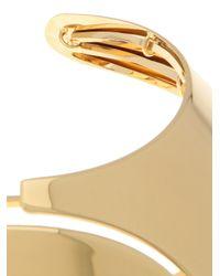 Lanvin - Metallic Gold Choker - Lyst