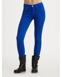 Rag & Bone | Blue The Skinny Jeans | Lyst
