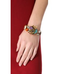 Erickson Beamon - Multicolor Garden Party Bracelet - Lyst