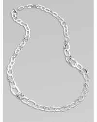 Ippolita - Metallic Long Sterling Silver Link Necklace - Lyst