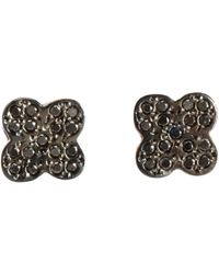 Ileana Makri - Black Women's Cross Studs - Lyst