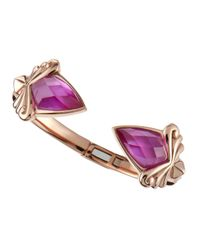 Stephen Webster - Pink Quartz Diamond Doublet Bracelet - Lyst