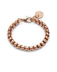 1AR By Unoaerre - Metallic Venetian Link Bracelet - Lyst