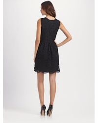 DKNY | Black Lace Dress | Lyst