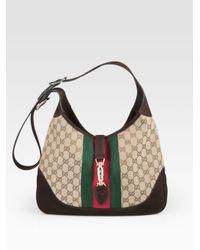 730de53d2610 Gucci Jackie Medium Shoulder Bag - Lyst