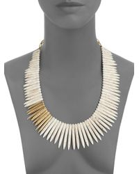 Kara Ross - Metallic Jasper Full Stick Necklace - Lyst