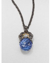 Stephen Webster - Blue Cancer Astro Crystal Ball Pendant Necklace - Lyst