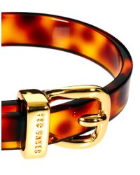 Ted Baker - Multicolor Narrow Belt Buckle Bangle - Lyst