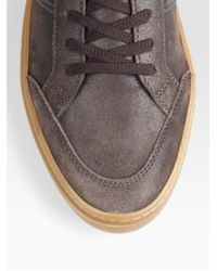 Tod's | Brown Leather Sneakers for Men | Lyst