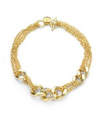 1AR By Unoaerre | Metallic Diamond Dust Necklace | Lyst