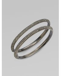 Adriana Orsini | Metallic Pav & #233 Antiqued Bracelet | Lyst