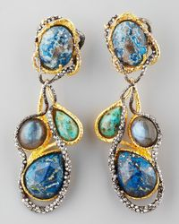 Alexis Bittar - Multicolor Cordova Vine Clip Earrings - Lyst