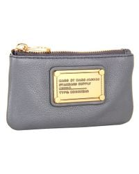 Marc By Marc Jacobs - Gray Classic Q Key Pouch - Lyst
