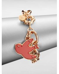 Marc By Marc Jacobs | Multicolor Bird Charm Bracelet | Lyst
