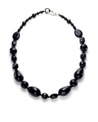 Pono - Black Large Bead Necklace - Lyst