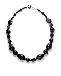 Pono | Black Large Bead Necklace | Lyst