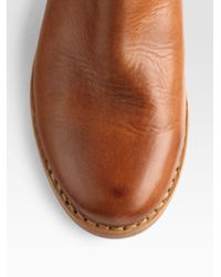 Rag & Bone | Brown Durham Leather Ankle Boots | Lyst
