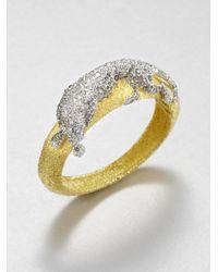 Alexis Bittar - Metallic Jeweled Panther Bracelet - Lyst