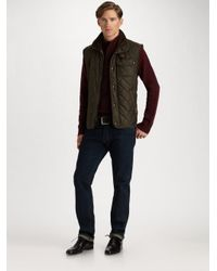 Polo Ralph Lauren | Black Richmond Quilted Vest for Men | Lyst