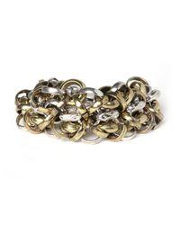 BaubleBar - Metallic Omedley Bracelet - Lyst