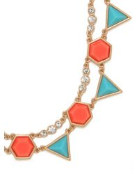 BaubleBar | Orange Patriot Geo Strand | Lyst