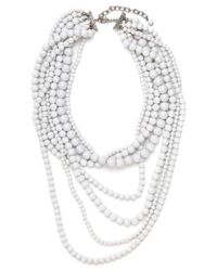 BaubleBar | White Snow Strands | Lyst