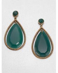 Stephen Dweck - Green Agate Drop Earrings - Lyst