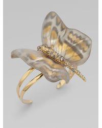 Alexis Bittar - Metallic Zanzibar Butterfly Bracelet - Lyst