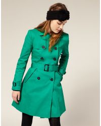 ASOS Collection | Green Asos Classic Mac | Lyst