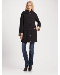 Burberry Brit - Black Hattingly Raincoat - Lyst