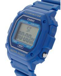 G-Shock | Blue F-108wh-2aef Digital Illuminator Watch | Lyst